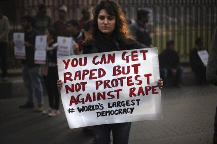 Protest against Rape and Government