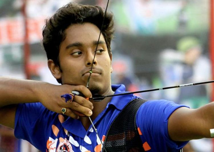 Rio Olympic 2016 Day 1 : Atanu Das progresses to round of 32 with 5th position !
