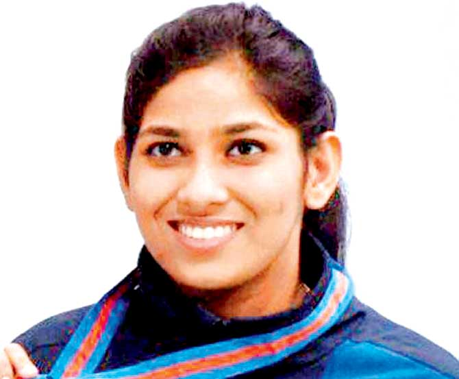 Ayonika paul and Apurvi Chandela out from 10m women Rifle event