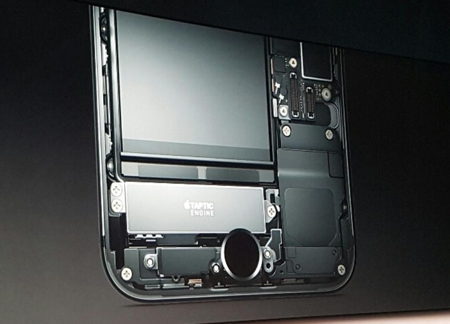 Taptic Engine in iPhone 7