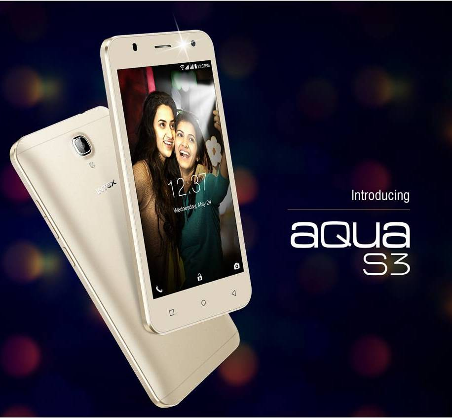 Intex Aqua S3 : Review, Specifications and Price in India