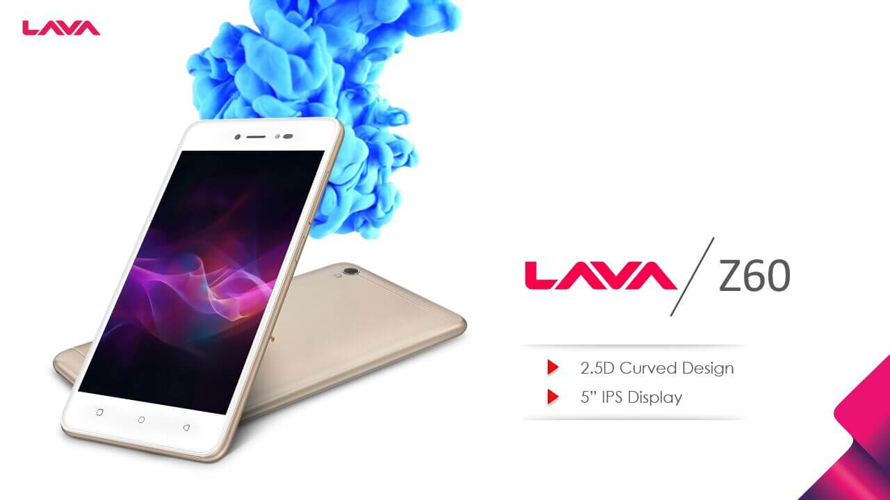Lava Z60 Display
