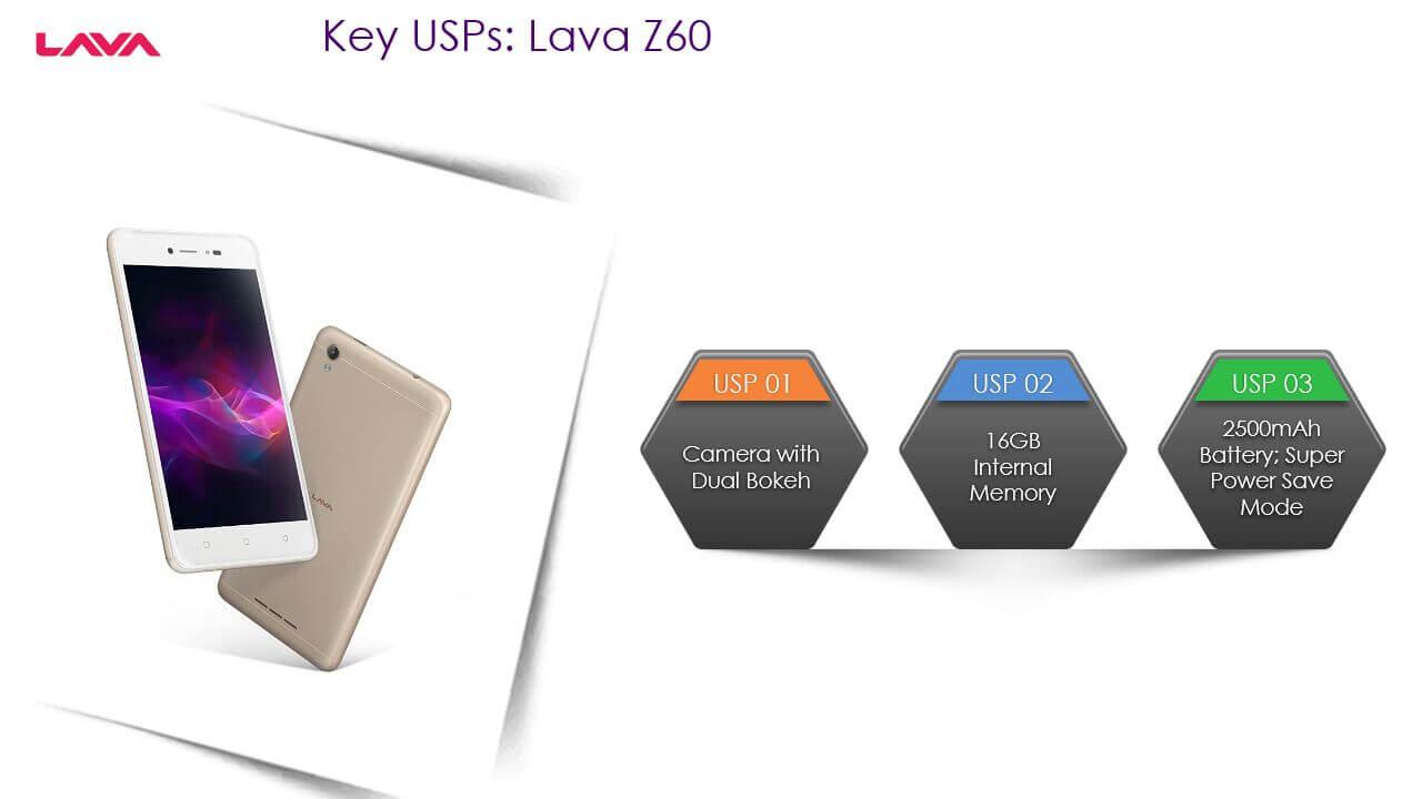 Lava Z60 is better than Samsung J2 2017 - Product Comparison
