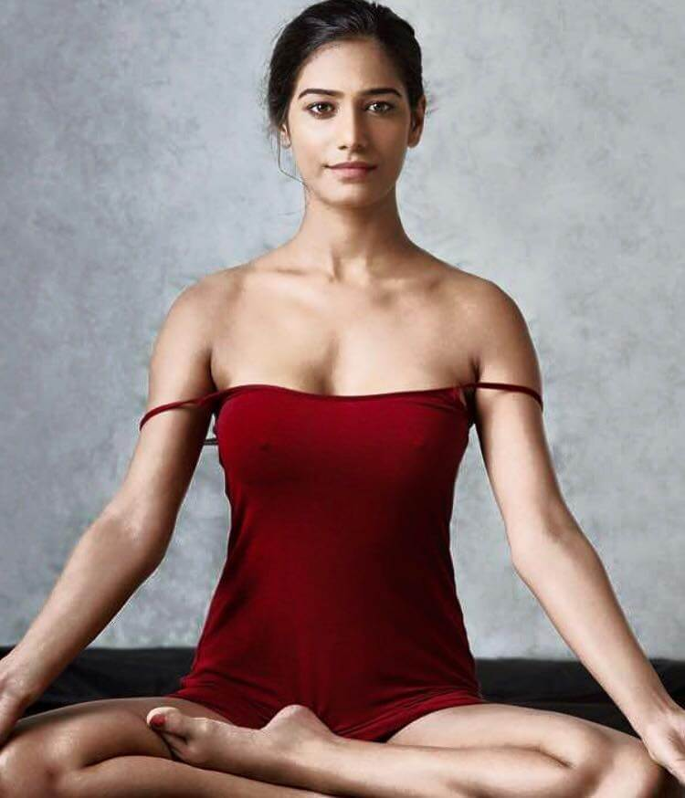 poonam pandey yoga