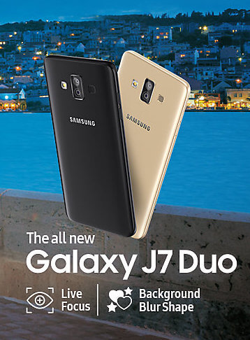 Galaxy J7duo price in India