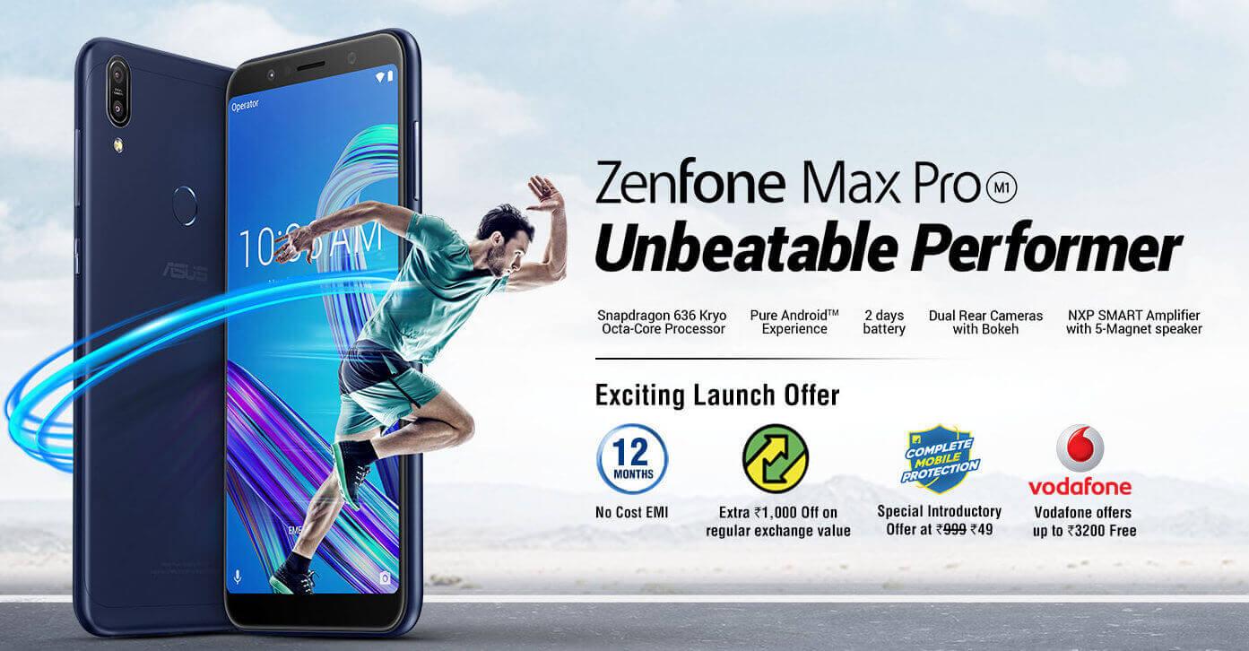 Asus Zenfone Max ProM1 price in india