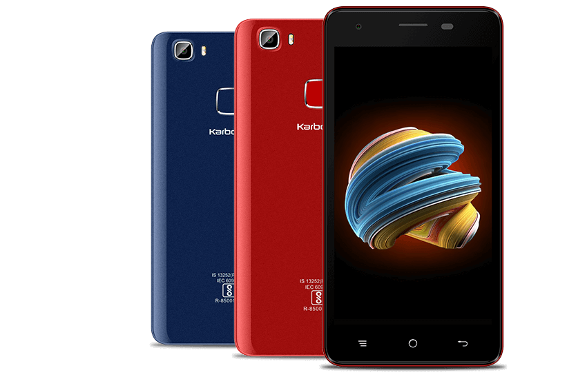Karbonn Aura storm 5 inch phone , 4000 mAh battery in Rs. 5500