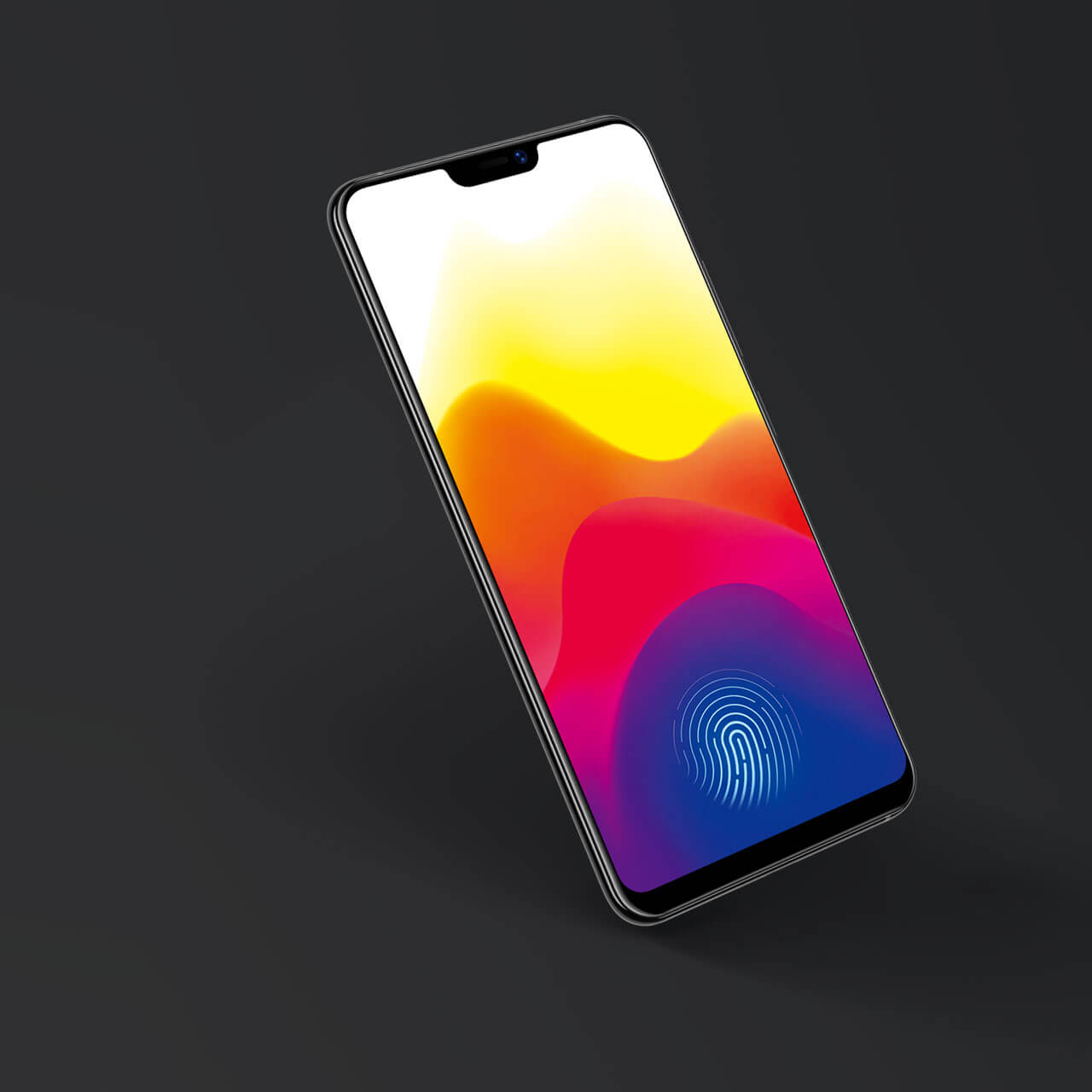 Vivo X21 fingerprint sensor