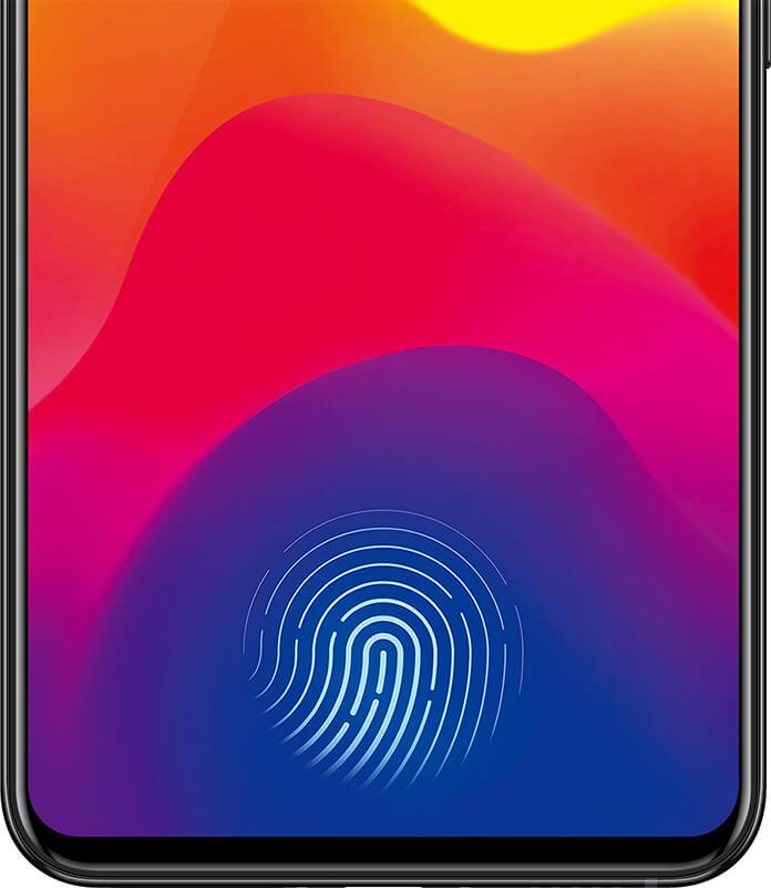 Vivo x21 fingerprint screen