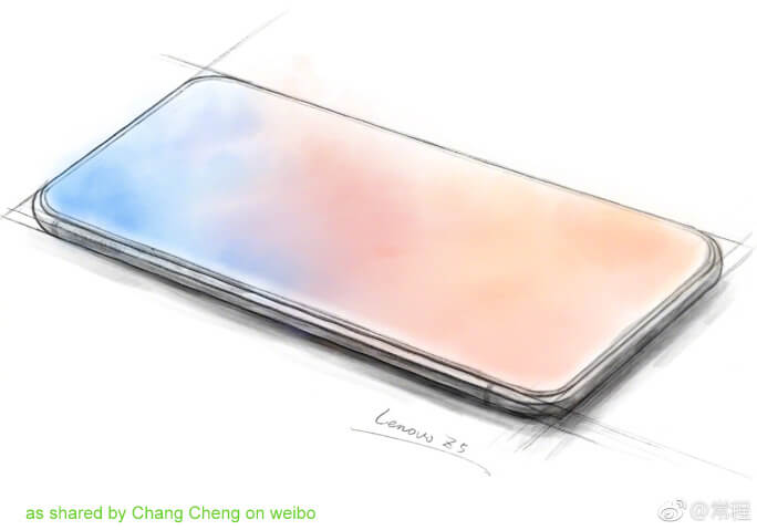 lenovo Z5 sketch by chang cheng