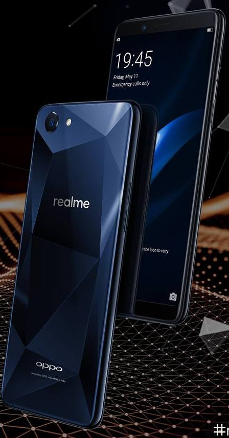 Realme1 launched on Amazon @ Rs. 8,990