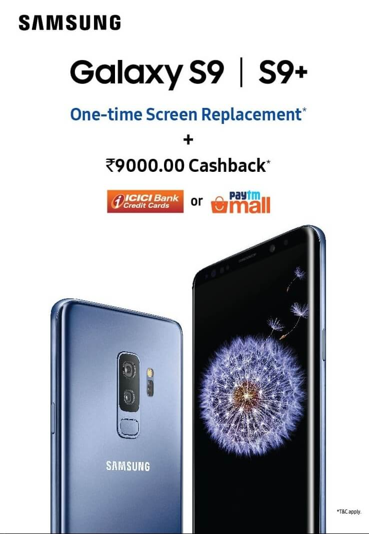 Samsung mobile price and cashback in June