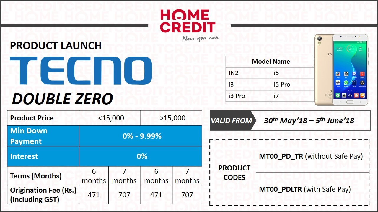 Tecno mobile price list and offer in June