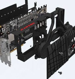 Review of ROG ARES II Dual HD 7970 GPUs and Hybrid Air/Water Cooling Design