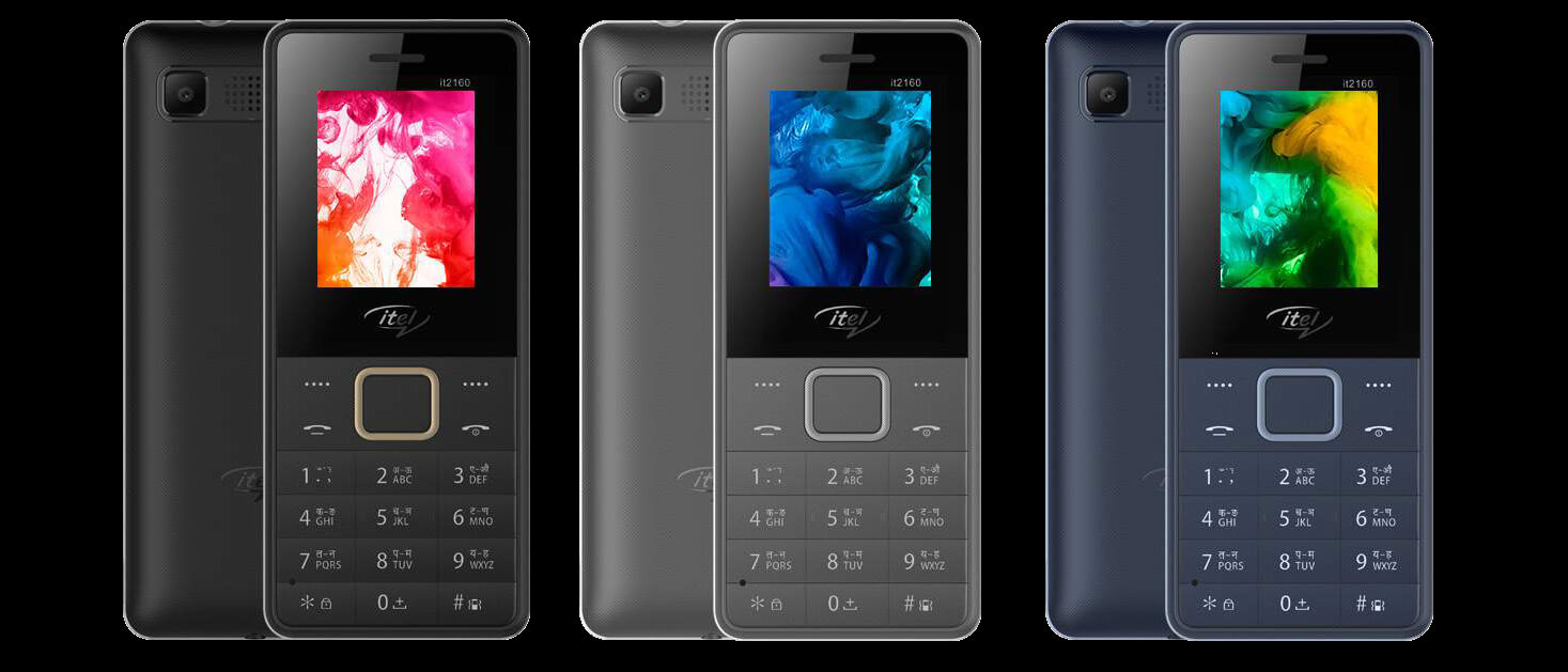 Itel 2160 with rear camera and wireless FM @ Rs. 799 launched in India