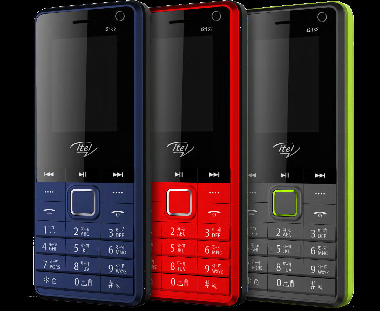 Itel 2182 dual camera phone, wireless FM launched @ Rs. 899 in India