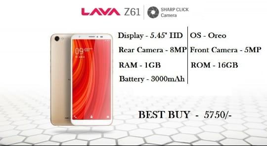 Lava Z61