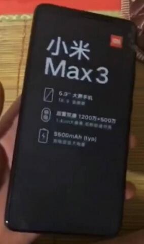 Leak Mi max3