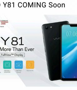 VivoY81 launching in India on 15th August