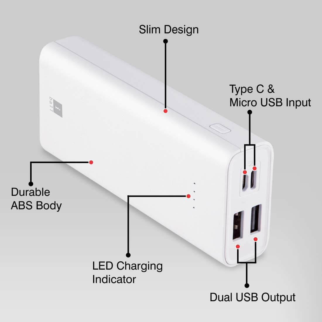 Iball IB 10000LPS Power bank