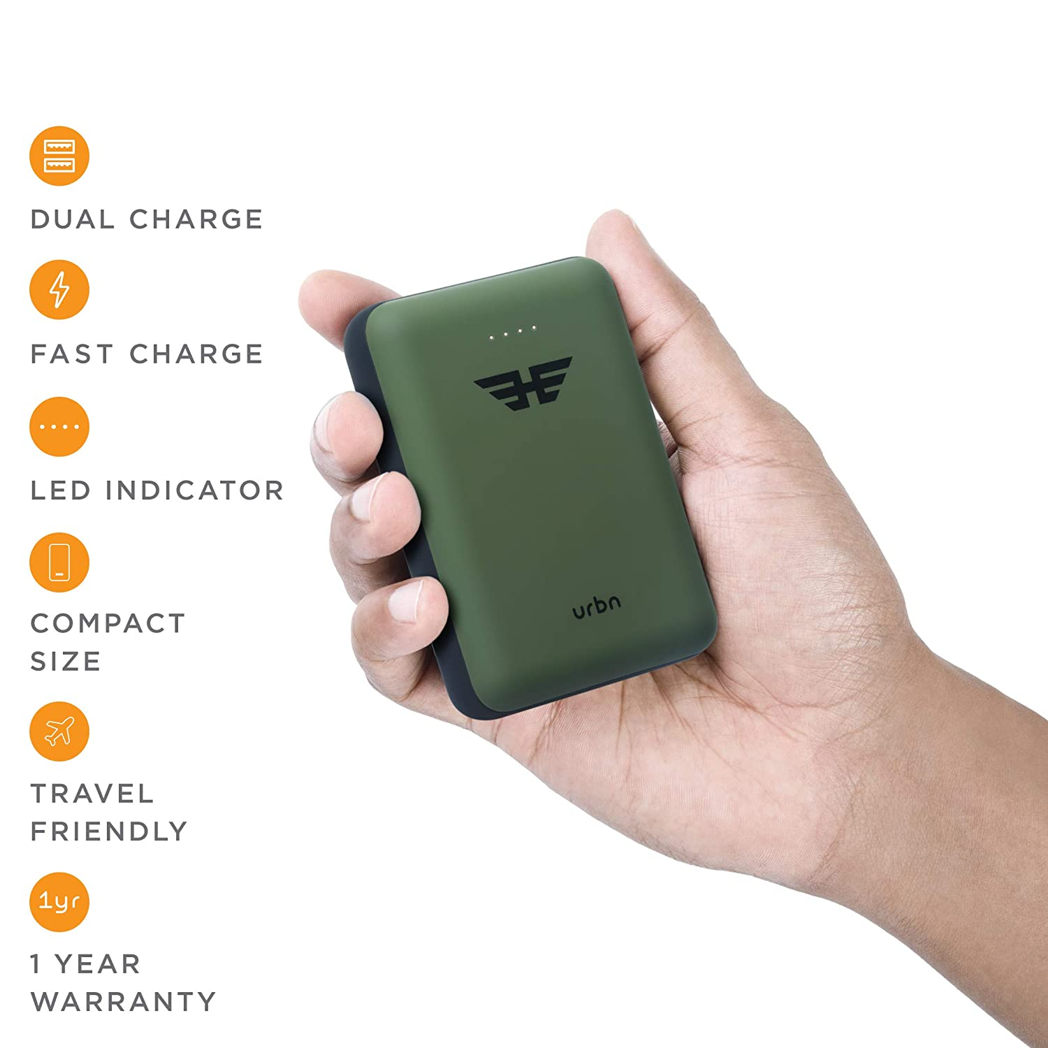URBN 10K Heroes power charger