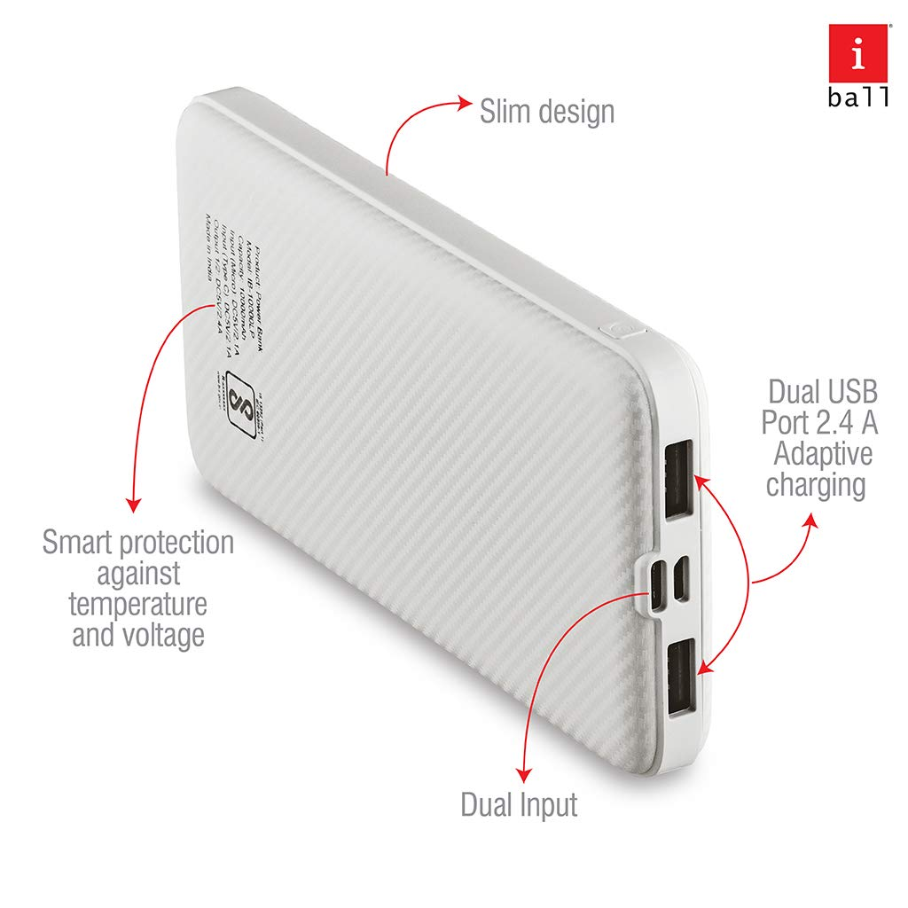 iBall 10000LP power bank