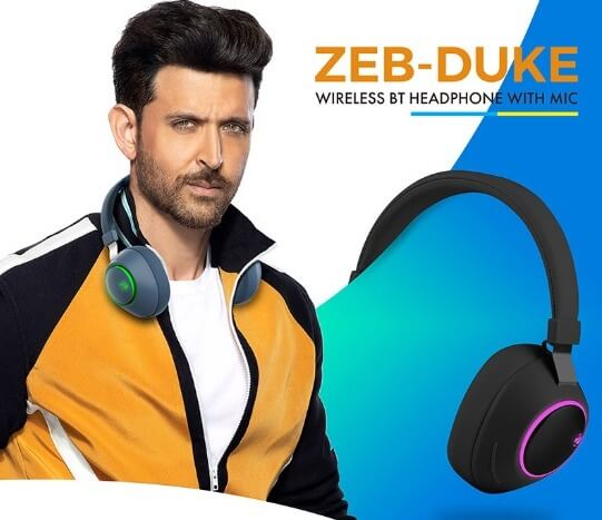 Zebronics zeb duke headphone